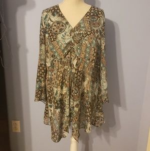 Lane Bryant 14/16 Womens Blouse